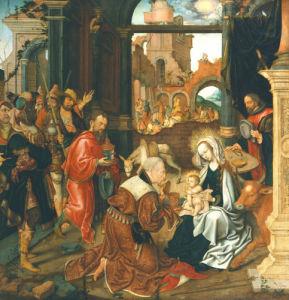 Adoration Of The Kings by Jakob Van Amsterdam Cornelisz