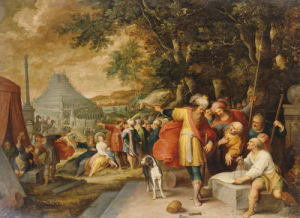 The Building Of The Tower Of Babel by Frans Francken The Younger