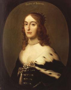 Portrait Of Elizabeth, Queen Of Bohemia (1596-1662) by Gerrit van Honthorst