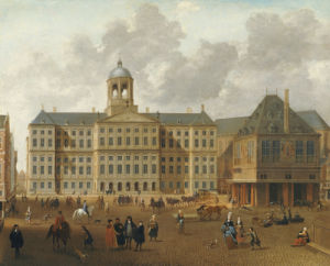 The Town Hall On The Dam, Amsterdam by Isaac Van Nickele