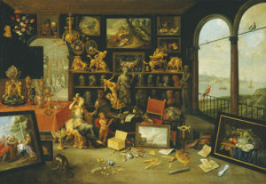 A Personification And Allegory Of Sight: A Collectors Cabinet, C. 1660 by Christie's Images