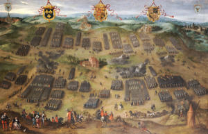 The Battle Of Moncontour, 30 October 1569 by Jan Snellinck