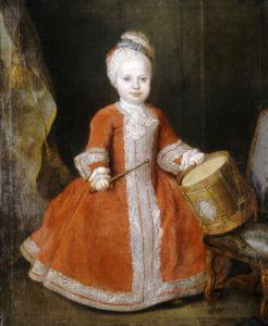 Portrait Of Prince Xavier De Saxe by Louis de Silvestre
