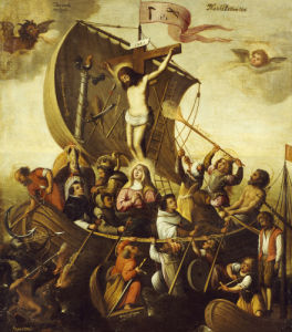 The Boat Of Christian Patience, C. 1590 by Christie's Images