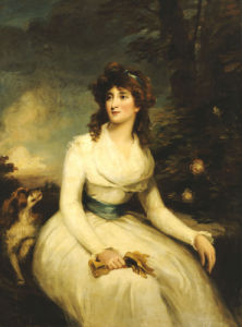 Portrait Of A Lady, Seated by John Russell
