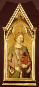 Saint Catherine by Jacopo del Casentino