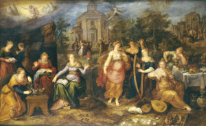 The Parable Of The Wise And Foolish Virgins, 1616 by Frans Francken The Younger