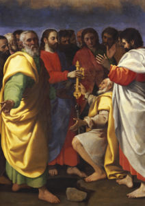 Christ's Charge To Saint Peter by Giuseppe Vermiglio