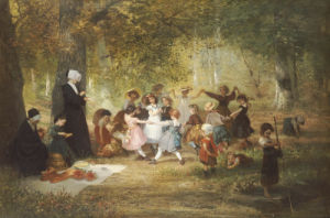 Ring A Ring A Roses by Anton Dieffenbach