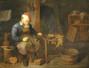 A Cobbler by David Ryckaert III