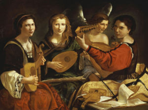 The Concert by Pietro Paolini