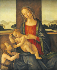 The Madonna And Child With The Infant Saint John The Baptist by Christie's Images