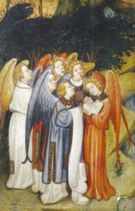 A Choir Of Angels A Fragment, Probably Of Nativity by Christie's Images