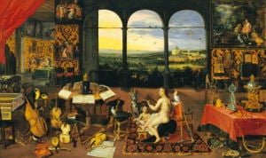 An Allegory Of Hearing by Jan Bruegel The Younger