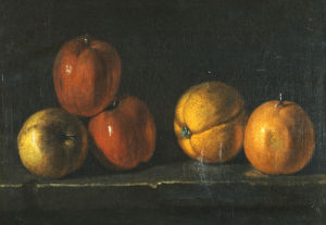 Une Nature Morte Aux Oranges by Jacques Charles Oudry