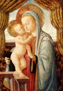The Madonna And Child by Zanobi Machiavelli