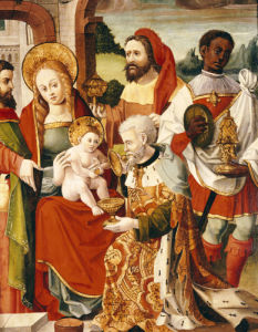 The Adoration Of The Magi, Castillian School, Circa 1525 by Christie's Images