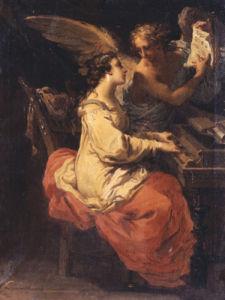 Saint Cecilia, 1791 by Gaetano Gandolfi