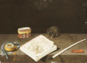A Mouse Chewing An Almanac , Circa 1671 by Christie's Images