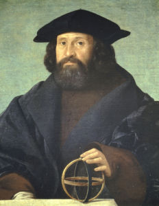 Portrait Of An Astronomer by Giovanni Cariani