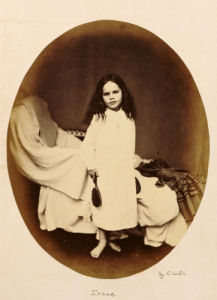 Irene. Lewis Carroll,1863 by Charles Lutwidge Dodgson