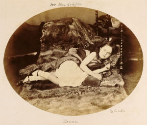 Portrait Of Irene Macdonald, 1863 by Charles Lutwidge Dodgson