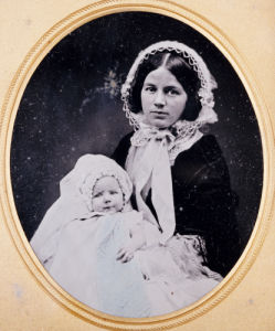 A Quarter Plate Ambrotype Of A Mother And Child, C. 1860 by Christie's Images