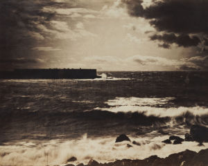 The Great Wave, Sete, 1856 by Gustave Le Gray