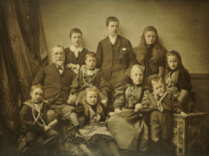 A Family Group Portrait, C.1895 by Christie's Images
