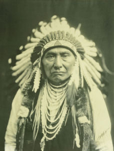 Chief Joseph, Nez Perce, 1903 by Edward S. Curtis