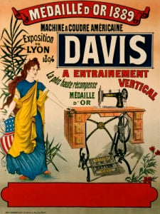 Davis, Machine A Coudre Americaine, C.1894 by Christie's Images