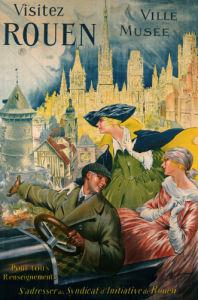 Visitez Rouen, C.1910 by P. Bonnet