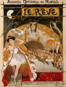 Le Reve, 1891 by Theophile-Alexandre Steinlen