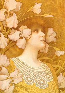 Sarah Bernhardt, 1901 by Paul Berthon