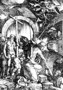 The Harrowing Of Hell or Christ In Limbo, From The Large Passion, 1510 by Albrecht Dürer