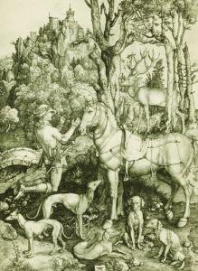 Saint Eustace, 1501 by Albrecht Dürer