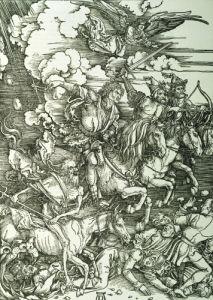 The Four Horsemen Of The Apocalypse, 1498 by Albrecht Dürer