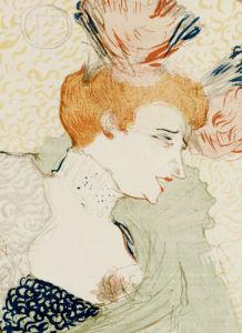 Mademoiselle Marcelle Lender, 1895 by Henri de Toulouse-Lautrec