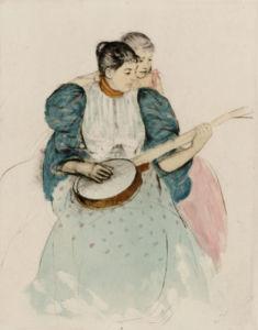 The Banjo Lesson, Circa 1893 by Mary Cassatt