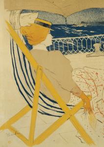 La Passagere Du 54, Ou Promenade En Yacht, 1895 by Henri de Toulouse-Lautrec