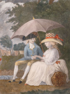 Under The Best Shelter, Under The Banner Of Love, 1787 by English School