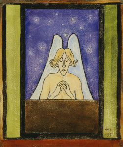 Meditation, 1895 by Hugo Simberg