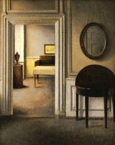 The Music Room, 30 Strandgade, 1907 by Vilhelm Hammershoi