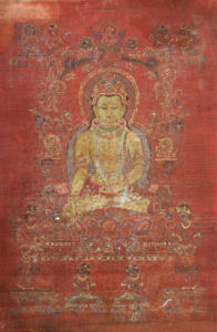 A Tibetan Thang.Ka Depicting Ratnashambhava by Christie's Images