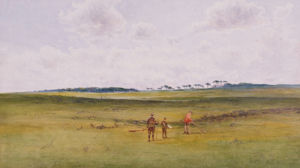 On The Links, St. Andrews by James Forbes Mackintosh Gow
