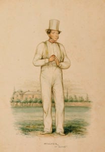 William Hillyer (1813-61), At Lords, Published 17th June 1850 by John Corbet Anderson