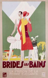 Brides Les Bains, 1929 by Leon Benigni