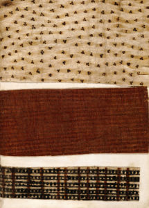 Specimens Of Cloth Collected In The Three Voyages Of Captain James Cook, 1787 by Christie's Images