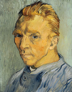 Self Portrait Without Beard, 1889 by Vincent Van Gogh