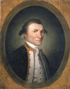 Portrait Of Captain James Cook by Christie's Images